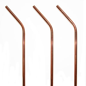 Copper Stainless Steel Straw