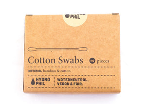 Bamboo and Cotton Swabs - The Weekly Shop | Plastic Free Online Shop