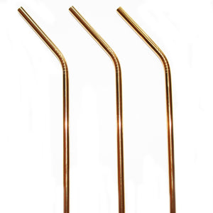 Gold Stainless Steel Straw - The Weekly Shop | Plastic Free Online Shop