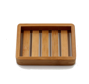Bamboo Soap Dish Tray - The Weekly Shop | Plastic Free Online Shop
