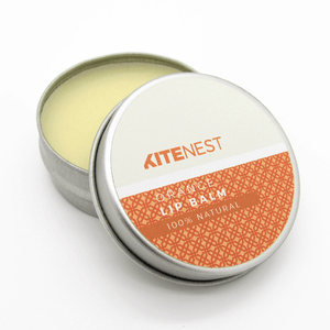 Orange Lip Balm - The Weekly Shop | Plastic Free Online Shop
