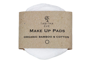 Organic Cotton & Bamboo Make Up Rounds - The Weekly Shop | Plastic Free Online Shop