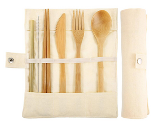 Natural Wooden Cutlery Set - The Weekly Shop | Plastic Free Online Shop