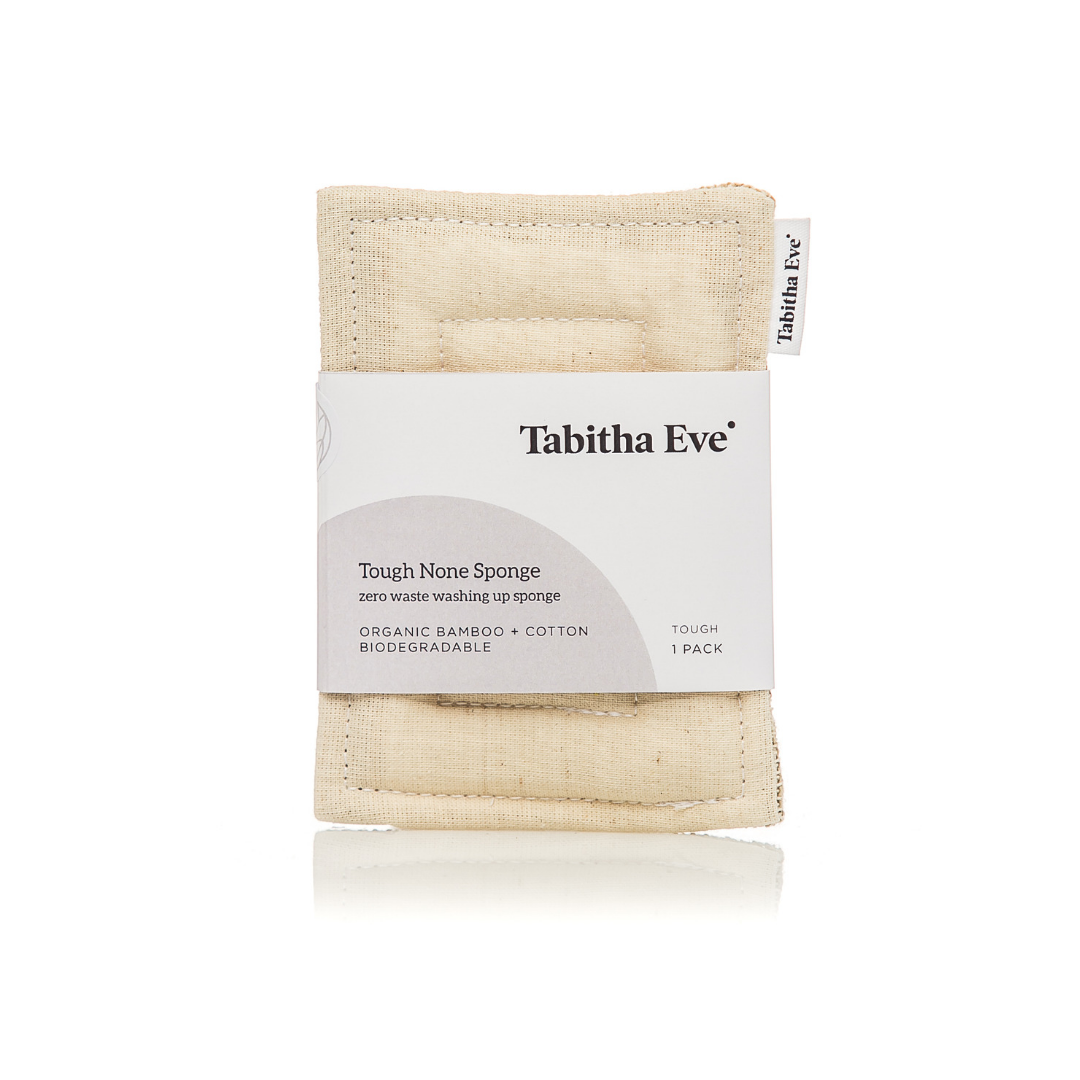 Tough None Sponge - Natural - The Weekly Shop | Plastic Free Online Shop
