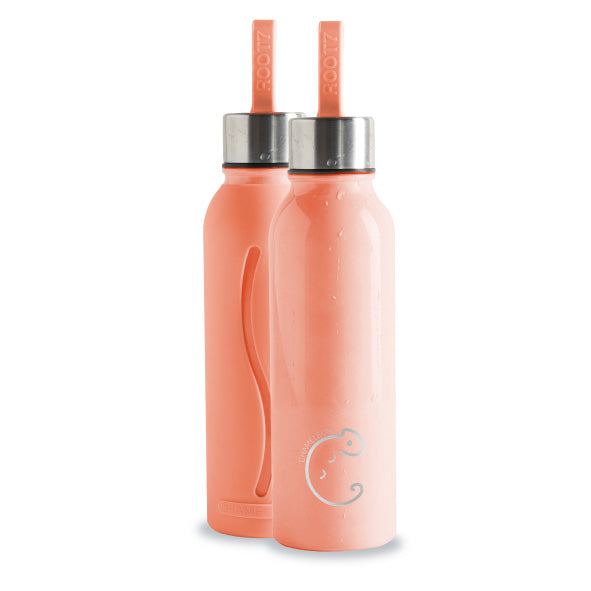 Peach 'Chameleon' Colour Changing Water Bottle - The Weekly Shop | Plastic Free Online Shop