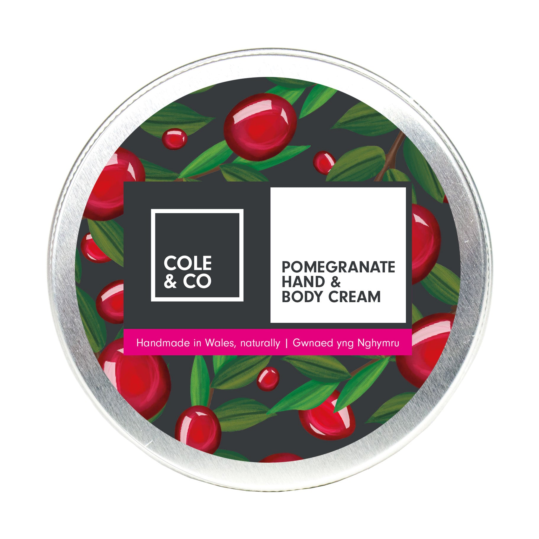 Pomegranate Hand and Body Cream - The Weekly Shop | Plastic Free Online Shop