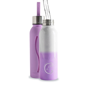 Purple 'Chameleon' Colour-Changing Water Bottle - The Weekly Shop | Plastic Free Online Shop