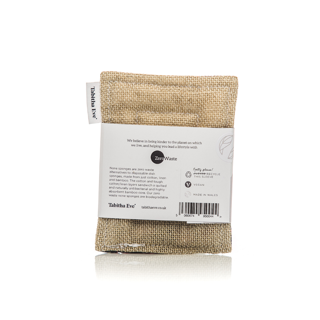Tough None Sponge - Botanical - The Weekly Shop | Plastic Free Online Shop