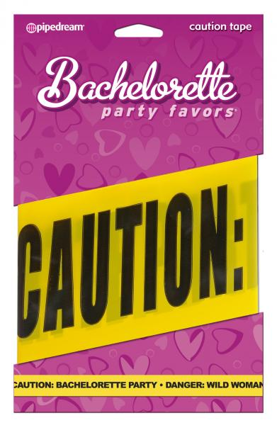 Bachelorette Party Caution Tape