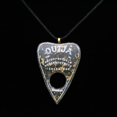 Green Moss Ouija Planchette Necklace | Stargazer Goods