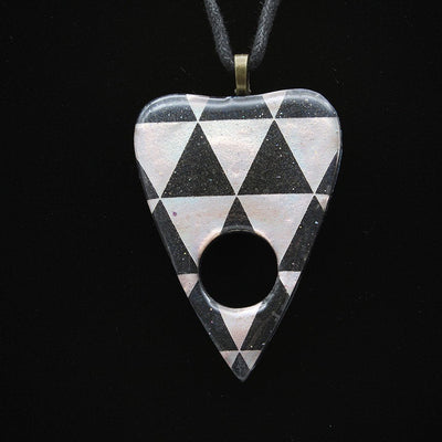 Holographic Triangle Ouija Planchette Necklace | Stargazer Goods