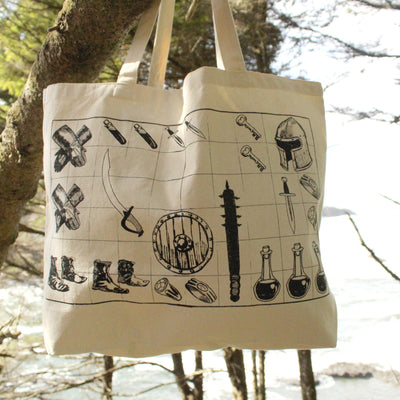 Loot Tote Hand Screen Printed Bag Stargazer Goods
