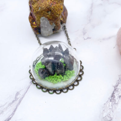 Crystal Terrarium Necklace Stargazer Goods
