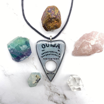 Holographic Ouija Planchette Necklace Stargazer Goods