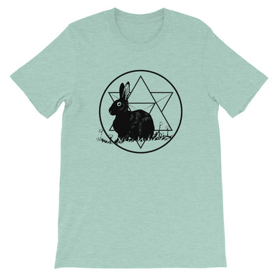 Rabbit Familiar Short-Sleeve T-Shirt - Stargazer Goods