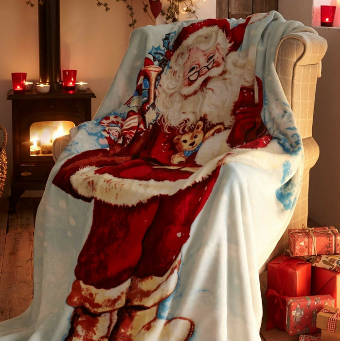 Father Christmas Throw