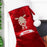 Personalised Retro Reindeer Luxury Stocking