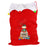 Personalised Christmas Elf Multicoloured Pom Pom Sack
