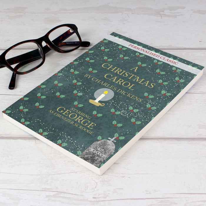 Personalised A Christmas Carol Novel - 1 Name