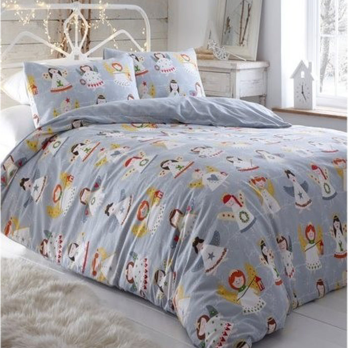 Choir of Angels Christmas Duvet Set