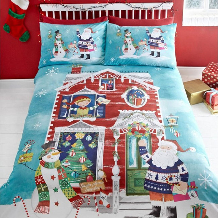 Waiting for Santa Christmas Duvet Set