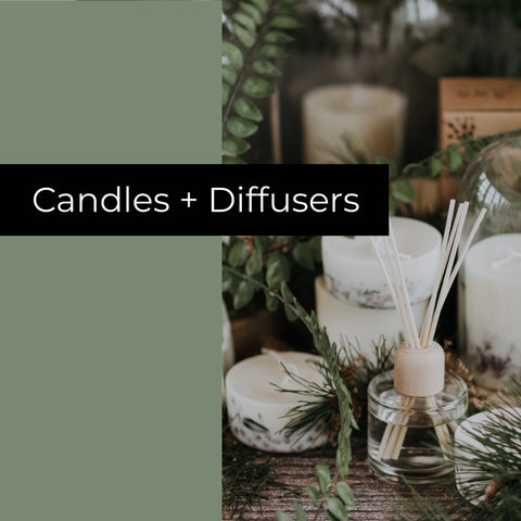 Candles + diffusers bundle