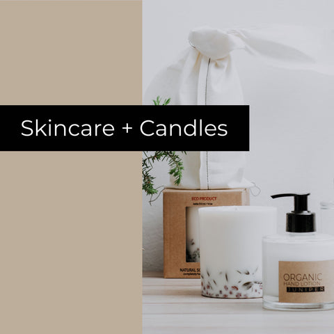 Skincare + candles bundle