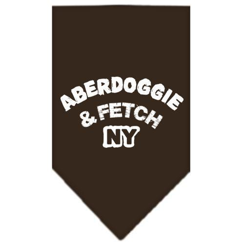 Aberdoggie Ny Screen Print Bandana-Dog Clothing-Bella's PetStor