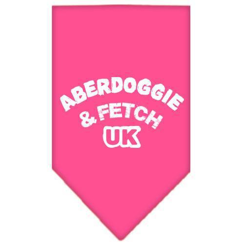 Aberdoggie Uk Screen Print Bandana-Dog Clothing-Bella's PetStor