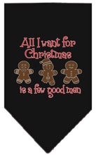 Load image into Gallery viewer, All I Want Is A Few Good Men Screen Print Bandana-Christmas, Hannakuh-Bella's PetStor