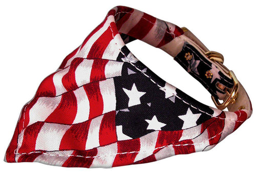America The Beautiful Bandana Collars Patriotic-Neckwear,-Bella's PetStor