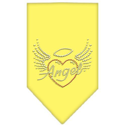 Angel Heart Rhinestone Bandana-Dog Clothing-Bella's PetStor