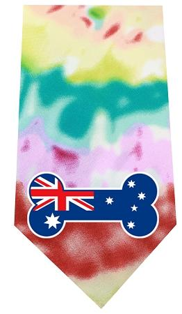 Australian Bone Flag Screen Print Bandana-Dog Clothing-Bella's PetStor