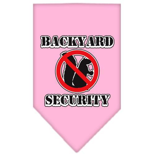 Backyard Security Screen Print Bandana-Dog Clothing-Bella's PetStor
