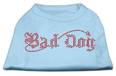 Bad Dog Rhinestone Shirts-Dog Clothing-Bella's PetStor