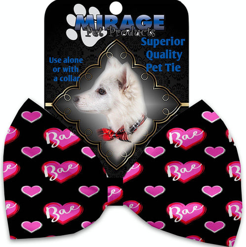 Bae Pet Bow Tie Collar Accessory With Velcro-Valentines-Bella's PetStor