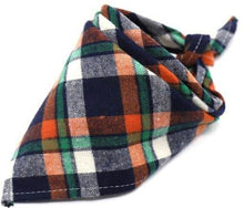 Load image into Gallery viewer, Bandana, 100% Cotton, 6 Colors, Plaid, (42*42*64cm)-Overseas,-Bella's PetStor