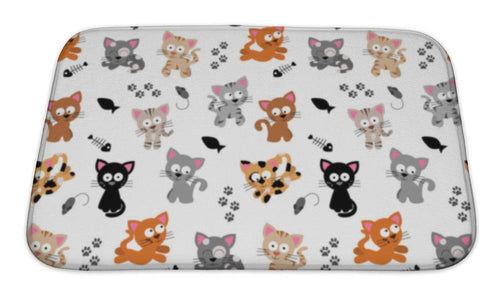 Bath Mat, Cute Cat Themed-Bath Mat-Bella's PetStor