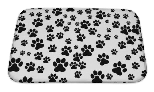Bath Mat, Dog Footprint-Bath Mat-Bella's PetStor