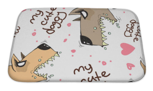 Bath Mat, Funny Doggy-Bath Mat-Bella's PetStor