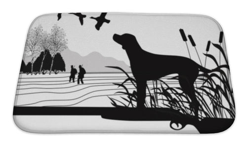 Bath Mat, Hunting Dog-Bath Mat-Bella's PetStor