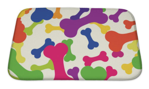 Bath Mat, Pattern Bone For A Dog-Bath Mat-Bella's PetStor
