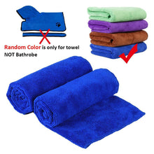 Load image into Gallery viewer, Bathrobe XS-XL, Bath Towel, 400g Microfiber Super Absorbent-Pet Accessories-Bella's PetStor