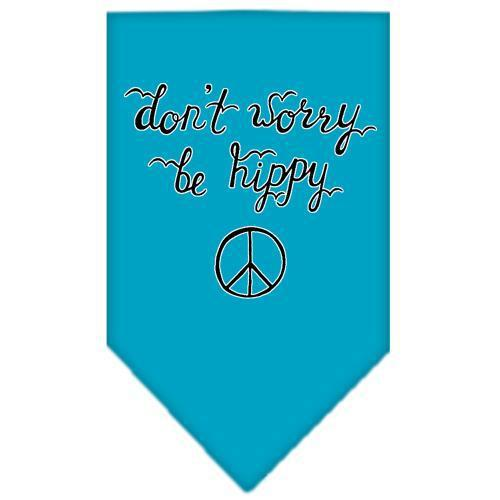 Be Hippy Screen Print Bandana-New!-Bella's PetStor