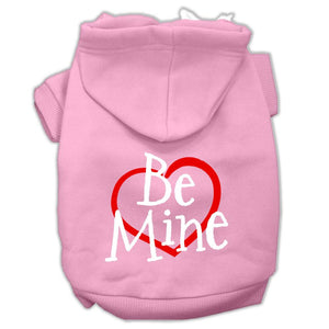 Be Mine Screen Print Pet Hoodies Size-Dog Clothing-Bella's PetStor