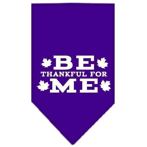 Be Thankful For Me Screen Print Bandana-Dog Clothing-Bella's PetStor