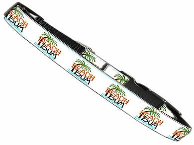 Beach Bum Nylon Cat Safety Collar-New!-Bella's PetStor