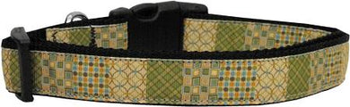 Beige Chaos Nylon Cat Collar-DOGS-Bella's PetStor