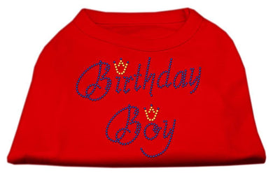 Birthday Boy Rhinestone Shirts-Dog Clothing-Bella's PetStor