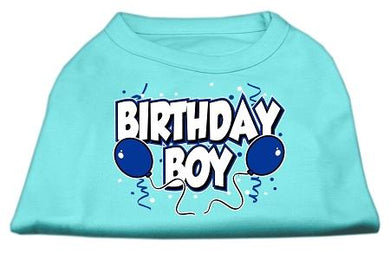 Birthday Boy Screen Print Shirts-Dog Clothing-Bella's PetStor
